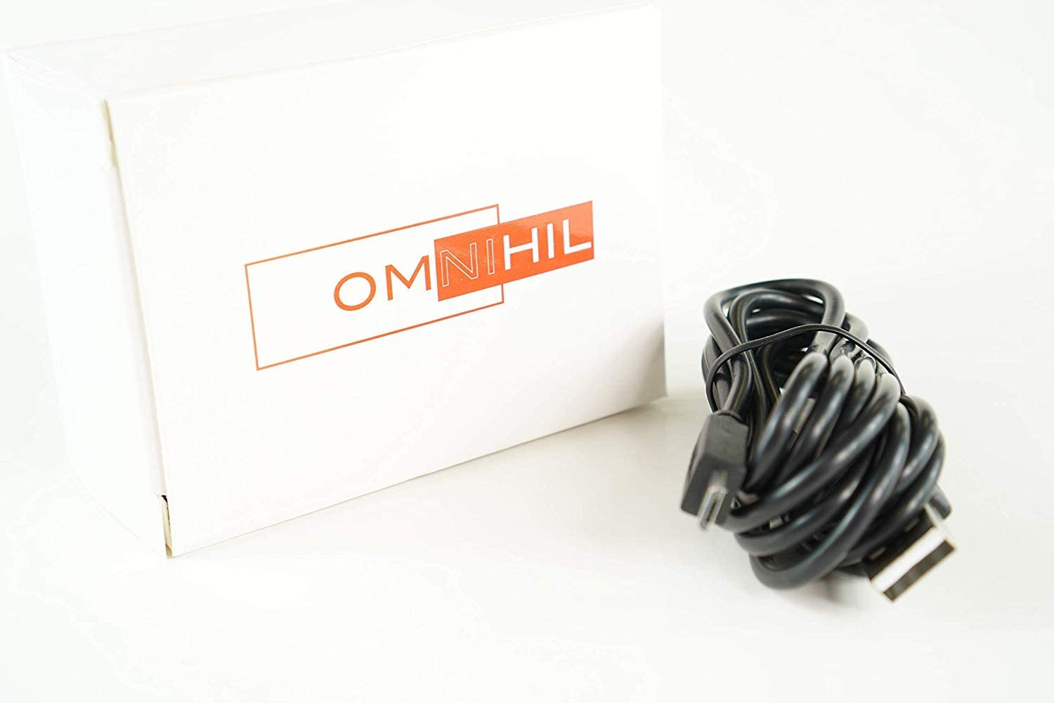 OMNIHIL 30 Feet Long High Speed USB 2.0 Cable Compatible with Motorola Talkabout T465 Radio
