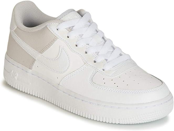 Nike Air Force 1 (GS) Scarpe Bambini Bianco : Amazon.it: Moda