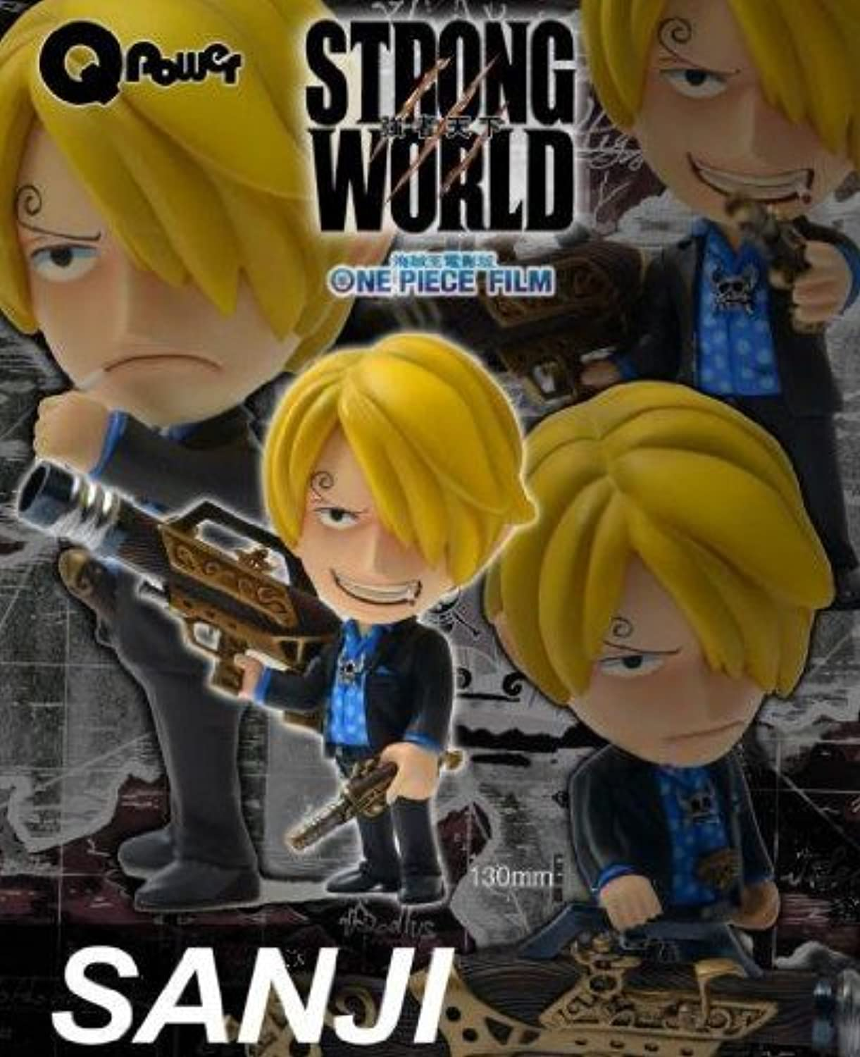 One Piece Strong World Edition Sanji Figure Hong Kong Limited version (japan import)