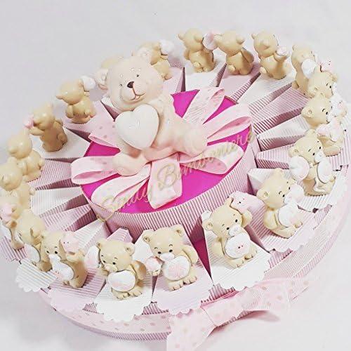 Kuchen Geburt Taufe B n Harz sortiert mit Zentrale Spaßdose mädchen Torta da 90 fette