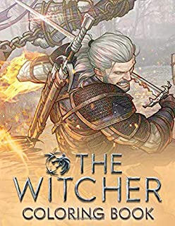 The Witcher Coloring Book: Enhanced edition for fan