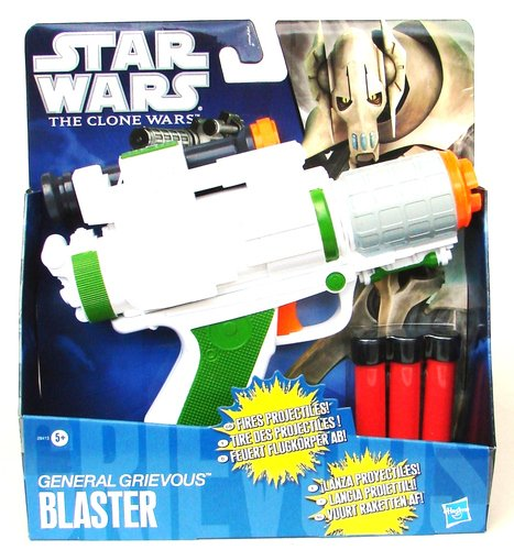 Star WARS The Clone Wars General Grievous Basic Blaster (Accessoire de Costume)