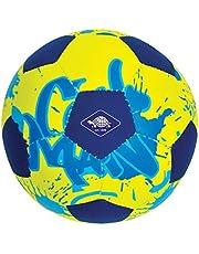 Schildkröt 970277 mini piłka nożna, idealna dla małych dziecięcych dłoni i stóp, przyczepna tekstylna powierzchnia, odporna na działanie słonej wody, rozmiar 2, Ø 15 cm, 970277