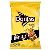 Doritos Lightly Salted Corn Crisps 225G (Pack Of 12)
