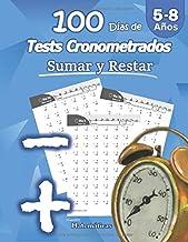 Humble Matemáticas - 100 Días de Tests Cronometrados: Sumar y Restar: 5-8 años, Práctica de Matemáticas, Dígitos 0-20, Problemas para practicar repetibles – Con hoja de respuestas