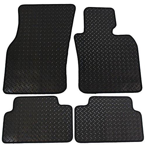 JVL Mini 2015F55Onward entièrement Conçu en caoutchouc tapis de voiture-noir, 4pièces
