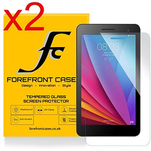 Forefront Hülles® [HD KLARHEIT] Gehärtetes Glas Display Schutz Protektor Folie für Huawei MediaPad T1 7.0 Plus / T1 7.0 / T2 7.0 [Ultra DÜNN nur 0.3mm]