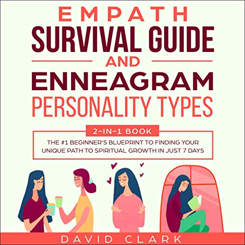 Empath Survival Guide and Enneagram Personality Types: 2-in-1 Book Titelbild