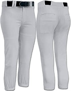Girls-Women's Low Rise Fastpitch Softball Pants