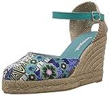 Desigual Shoes TEACAS, Alpargatas Mujer, Turquesa-Türkis (5024), 38