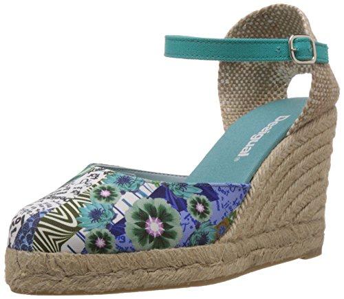 Desigual Damen Shoes TEACAS Espadrilles, Türkis (5024), 38