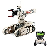 New Bright R/C Multi-Function iRobot 710 Kobra Toy Includes 12.8V Power Pack Batteries & Charger (1:3 Scale), Beige [並行輸入品]
