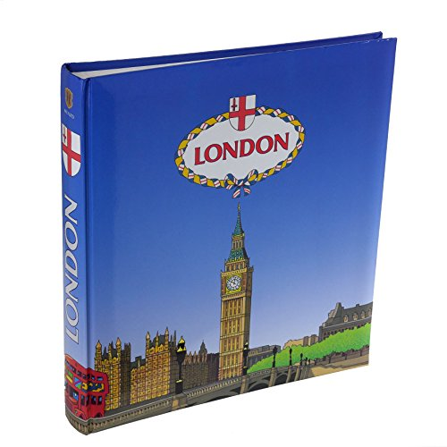 Henzo Fotoalbum LONDON Blau