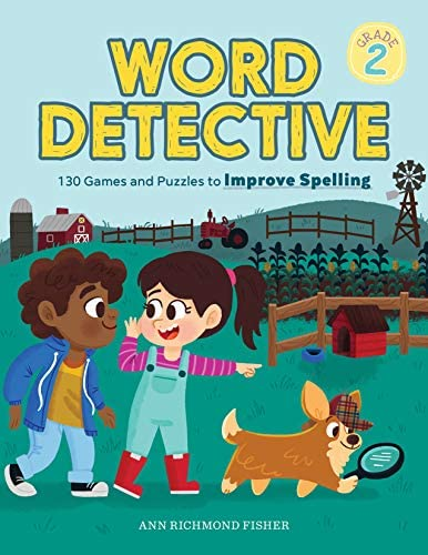 Word Detective Grade 2 130 Games and Puzzles to Improve Spelling product image