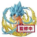 Banpresto-Japan Dragon Ball Super - Figura de Adverge Burst 03 Super Saiyan 3 Son Goku SSJ Blue