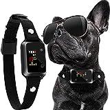 Aenoko Dog Bark Collar, Shock Vibrating Humane Anti Bark No Bark Stop Dog Barking Collars for Small Medium Large Dogs