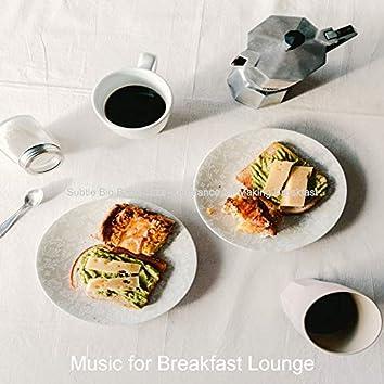 Subtle Big Band Jazz - Ambiance for Making Breakfast