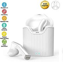 Lyyy Ecouteur Bluetooth,Ecouteur sans Fil L/éger St/ér/éo 950mAh Bo/îte de Charge 30 Heure Play IPX5 /Étanche Sport Casque Micro Int/égr/é et Bo/îte de Charge pour Apple Airpods Android iphone