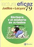 Bárbara y El Misterio de Ariadna Juego Lectura (Juegos De Lectura)