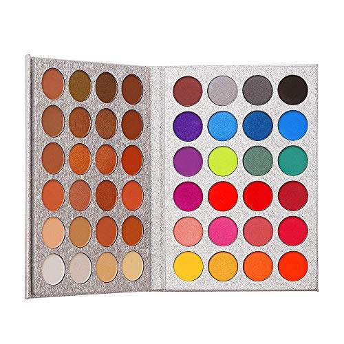 Paleta de sombras de ojos Maquillaje Brillo mate 48 colores Desnudos profesionales...