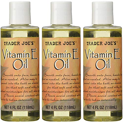 Trader Joe's Vitamin Oil E 4 Ounce, 3 Pack