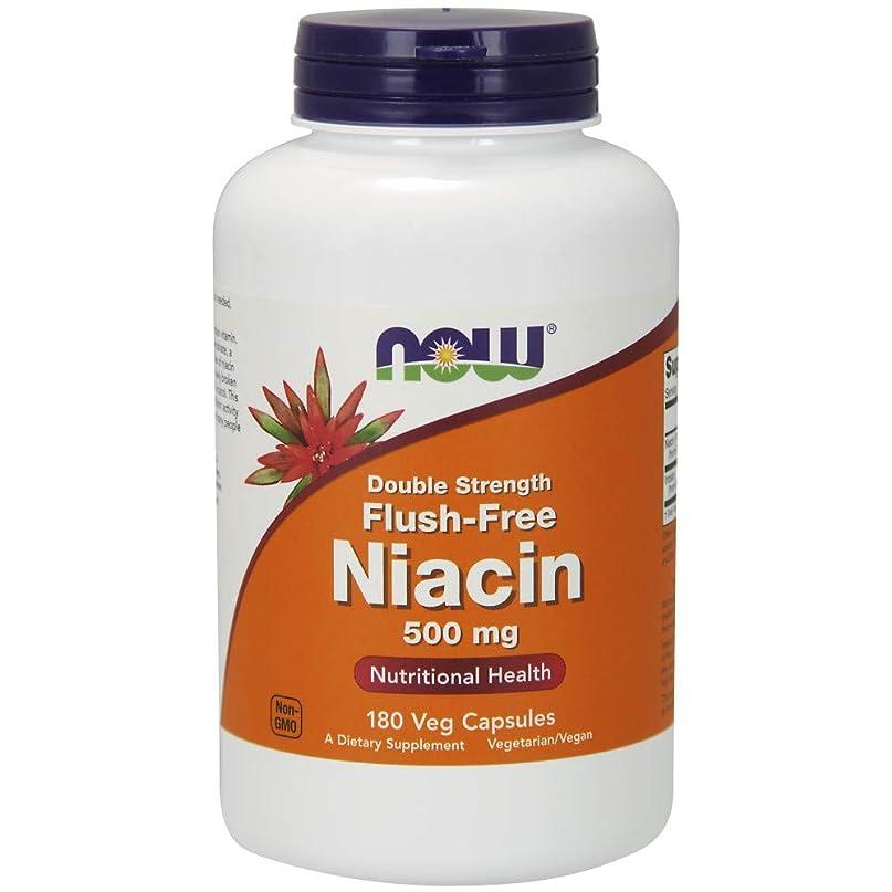 理解する結婚した安息海外直送品Now Foods Flush-Free Niacin, 180 Vcaps 500mg