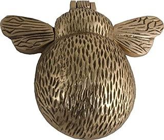 Bee Door Knocker Brass