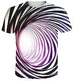 NEWISTAR Unisex Cat Tshirt 3D Printed Summer Casual Short Sleeve Shirts