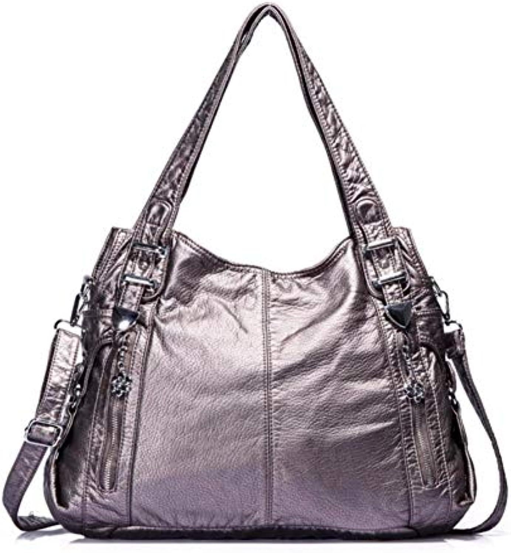 Women's Bag Qiudong Lady's one-Shoulder Bag Fashion Trend Handbag Inclined Straddle Bag