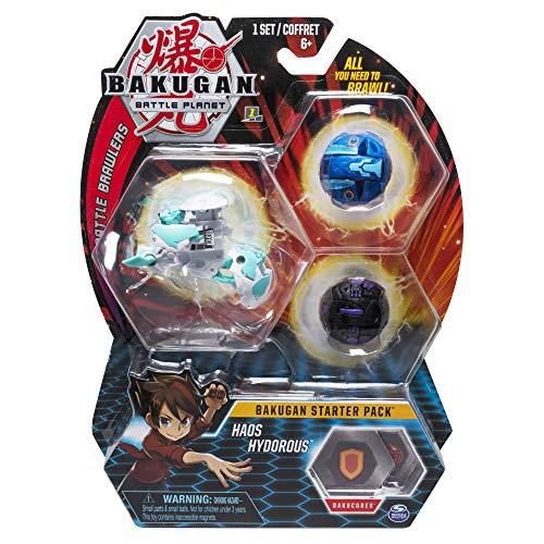 BAKUGAN- Starter Pack Haos Hydorous, Multicolore (Bizak 61924426)