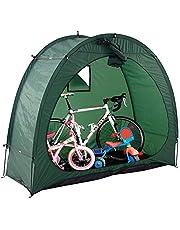 Yeglg Carpa para bicicletas, cobertizo para guardar bicicletas, cubierta para carpa para guardar bicicletas al aire libre, utilizada para guardar bicicletas al aire libre