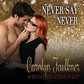 Never Say Never audiobook cover art