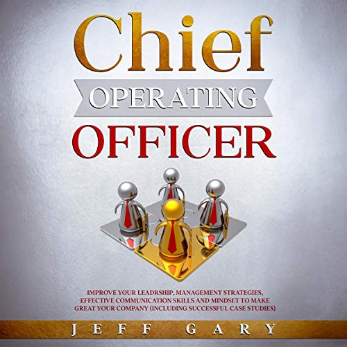 Chief Operating Officer audiobook cover art