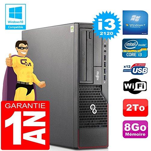 Fujitsu PC Esprimo E700 E90+ SFF Core I3-2120 RAM 8gb Scheibe 2 zu Wifi W7 (Generalüberholt)