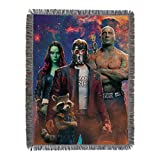 Marvel's Guardians of the Galaxy, 'Space Crew' Woven Tapestry Throw Blanket, 48' x 60', Multi Color