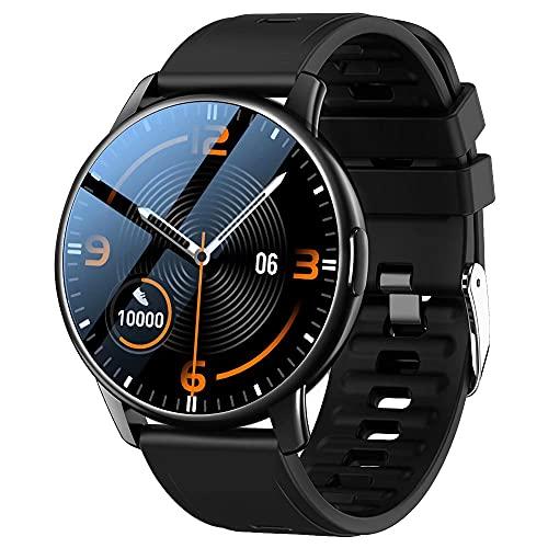 LEMFO Smartwatch Herren Uhren Fitness Armbanduhr mit 24 Sportmodi und Personalisiertem Bildschirm, IP68 wasserdichte Fitnessuhr Sportuhren mit blutdruckmessung, Schrittzähler für Android Ios