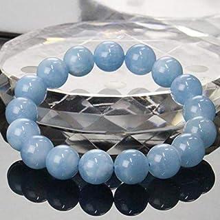 【一点物 12mm玉】 アクアマリン ブレスレット Bracelet ブレスレット Bangle 腕輪 ブレス Aquamarine ミルキーアクア メンズ レディース パワーストーン 天然石 パワーストーン a19597