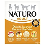 Naturo Adult Dog Food Chicken Lamb & Rice with Vegetable (400g) - Pack of 6