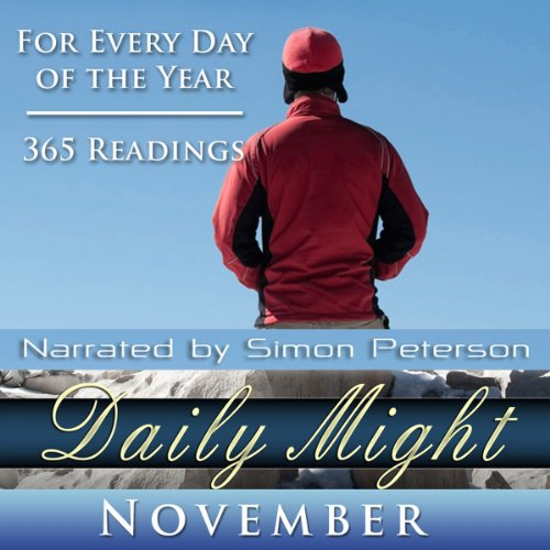 Daily Might: November audiobook cover art