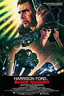 "Blade Runner (Ridley Scott, Harrison Ford) - (24"" X 36"") Movie Poster - A Certified PosterOffice Print with Holographic Sequential Numbering for Authenticity"