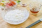 アデリア ガラス そうめん鉢 最大18×高6.5cm 鳴門 そうめん鉢 日本製 F-49636