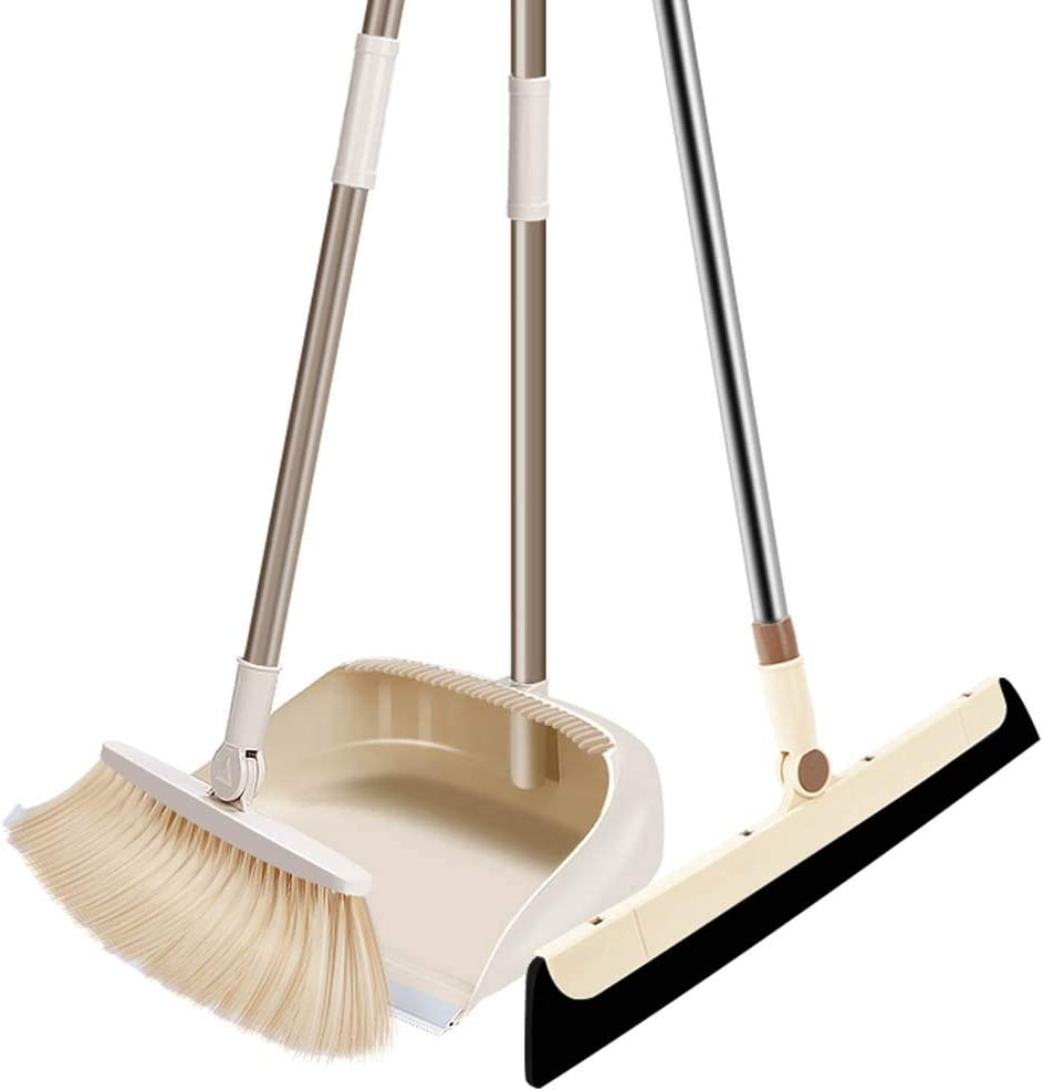 NLIAN- Broom and Dustpan S Albuquerque Mall Set Includes Floor Latest item