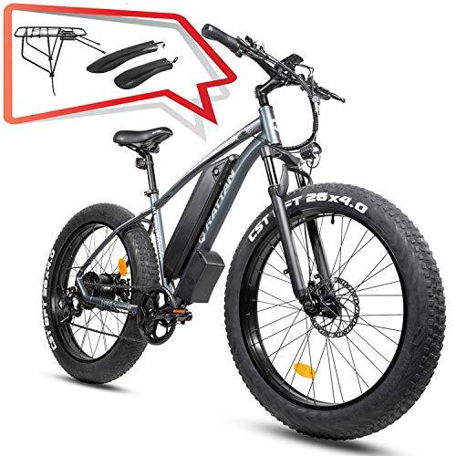 Electric Snow Bike 26' 4.0' Fat Tire 750W EBike Shimano...