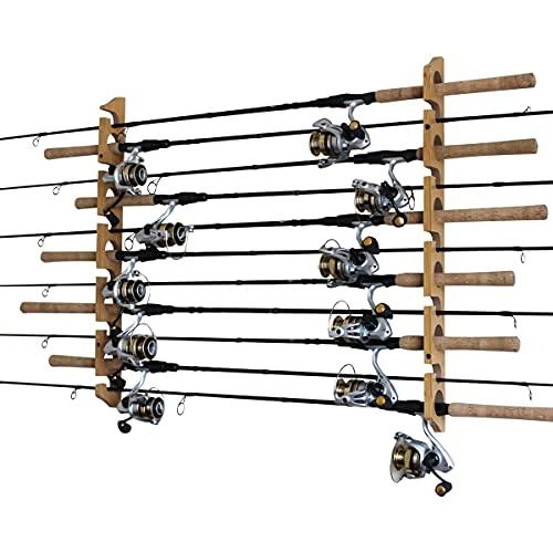 (Wood Grain Laminate) - Rush Creek Creations Fishing Rod