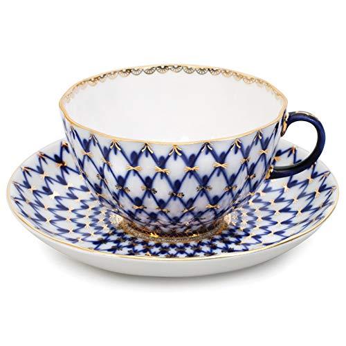 Imperial/Lomonossow Porzellan Teetasse W/Untertasse