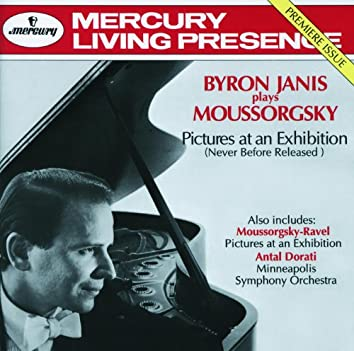 Mussorgsky: Pictures at an Exhibition (Versions for piano & for orchestra) etc.