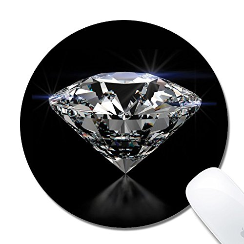 Cholaty Mouse Pad - Thick Natural Rubber Keyboard Mouse Mat Rectangle Non-Slip Rubber Base Mouse Pad Wrapping Edge Diamond Gaming Mouse Pad