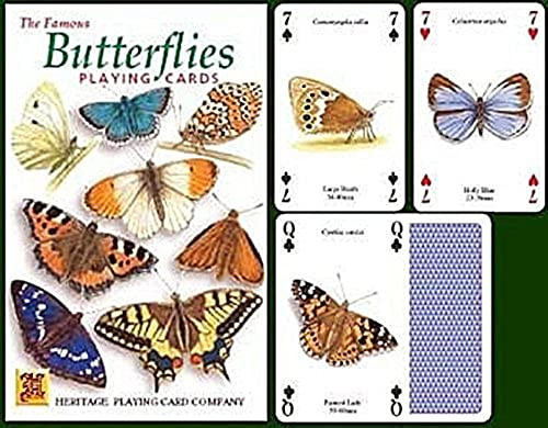 Butterflies Playing Cards by Heritage Playing Cards