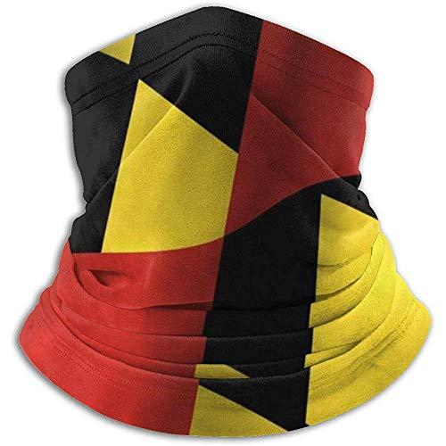 Archiba Bandeau de Drapeau de Maryland Balaclava Womens Foulard Bandana pour Homme, Silencieux, Cache-Cou