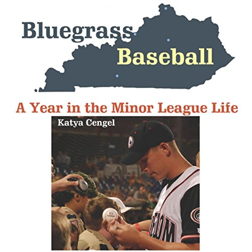 Bluegrass Baseball audiobook cover art